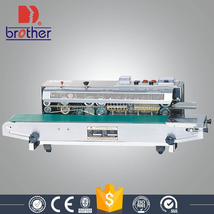 Horizontal Continuous Heat Sealing Machine Band Heat Sealer
