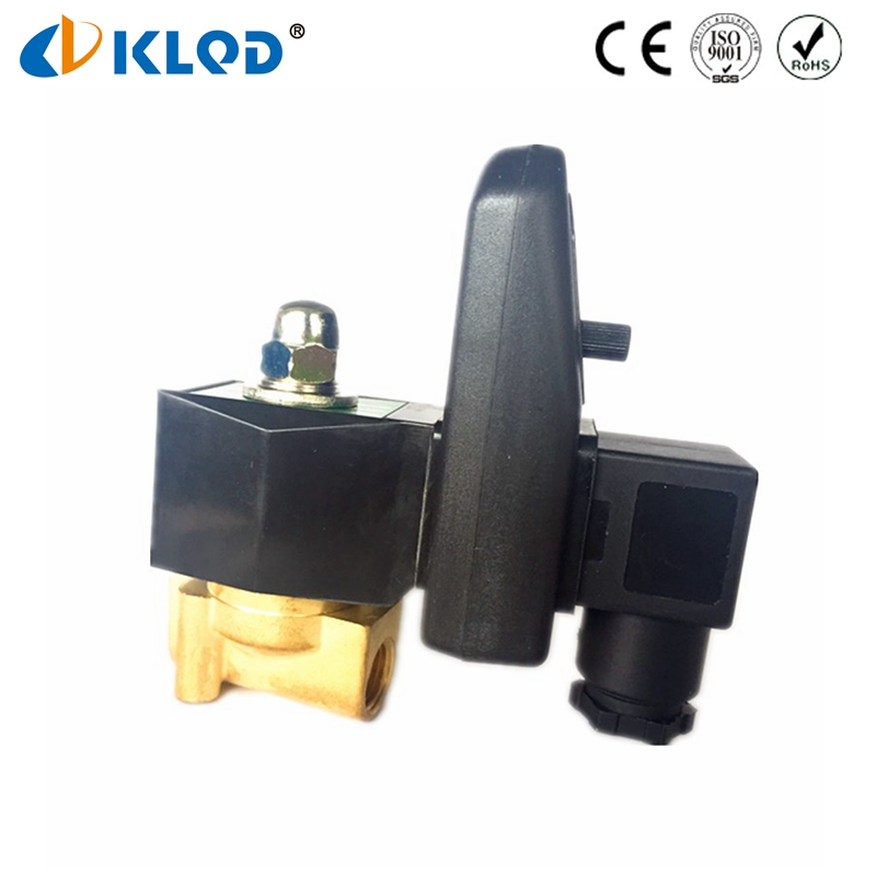 1/4 Size 2W025-08S-T BSP <strong>G</strong> Thread 220V Water Solenoid Valve with Timer