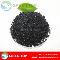 Potassium Humate Black Shiny Flake 100% Soluble