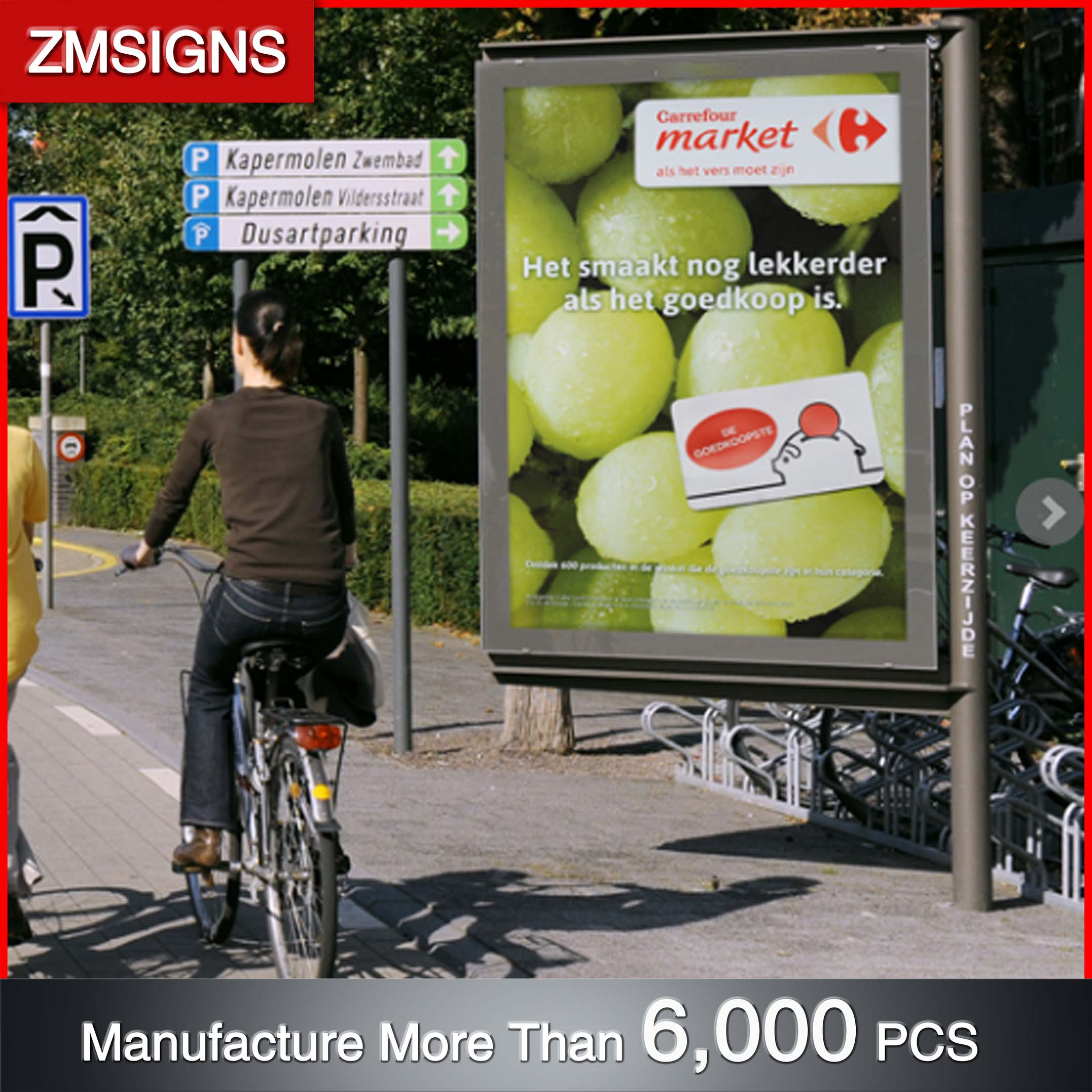 China Made advertising light box billboard Free led sign animations