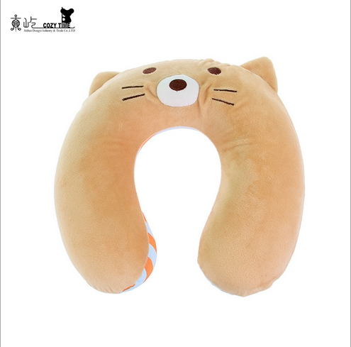 Promotional cheap natural latex neck pillow