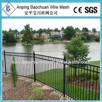 Hot dip galvanized 1.8m(H) metal fence panel