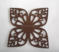 different color laser cutting motifs iron on transfer