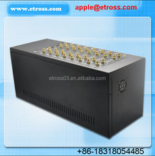 SALE for New Year!!!Auto route provider 32 Channel WCDMA Gateway , GoIP 32 port