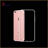 TPU case cellphone , ultra thin soft tpu gel for iphone case, for iphone 7/7plus case clear tpu stock