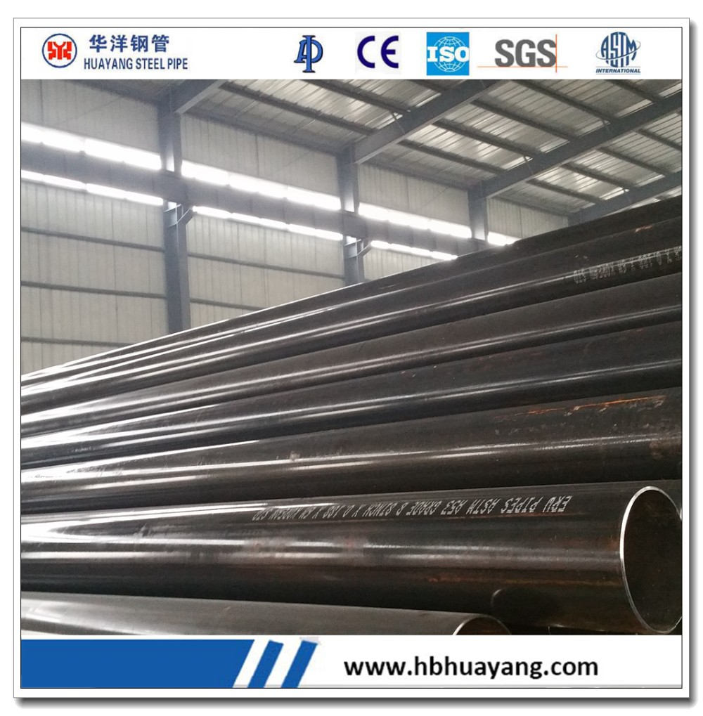 manufacture steel pipe ERW steel pipe API 5L STEEL PIPE