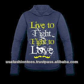 Live & Love Burnout Hoody Tee Shirt