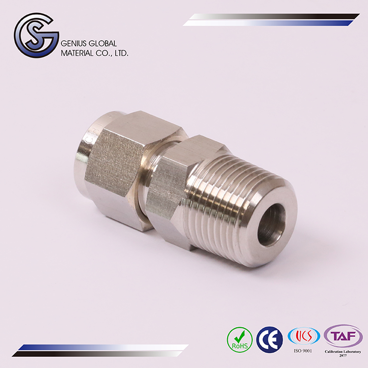 GS-A01 Tube Fittings Male Connector sanitary gi pipe fitting names and parts take off chart