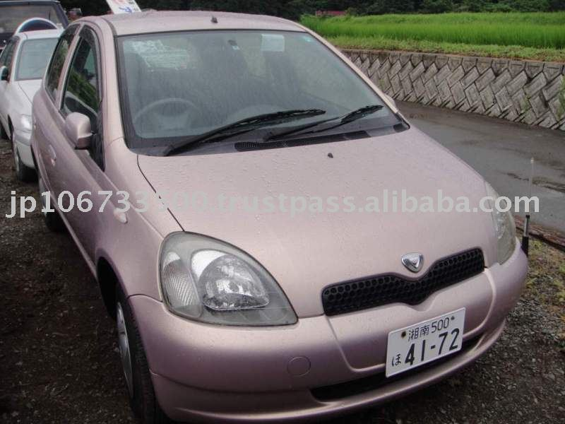 Used TOYOTA Vitz (YARIS) car Japanese used car