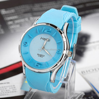Unisex wrist watch, multicolor simple style watch for unisex