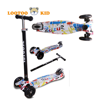 Buy uk best quality cheap ride on 3wheel flicker scooter for a age 5 - 9 year old boys