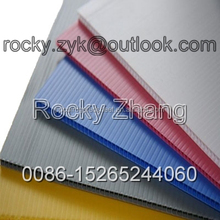 Hollow Core Plastic Flute Board corrugated sheet board