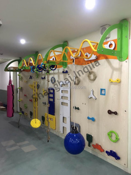 customized design chidlren climbing wall for sale