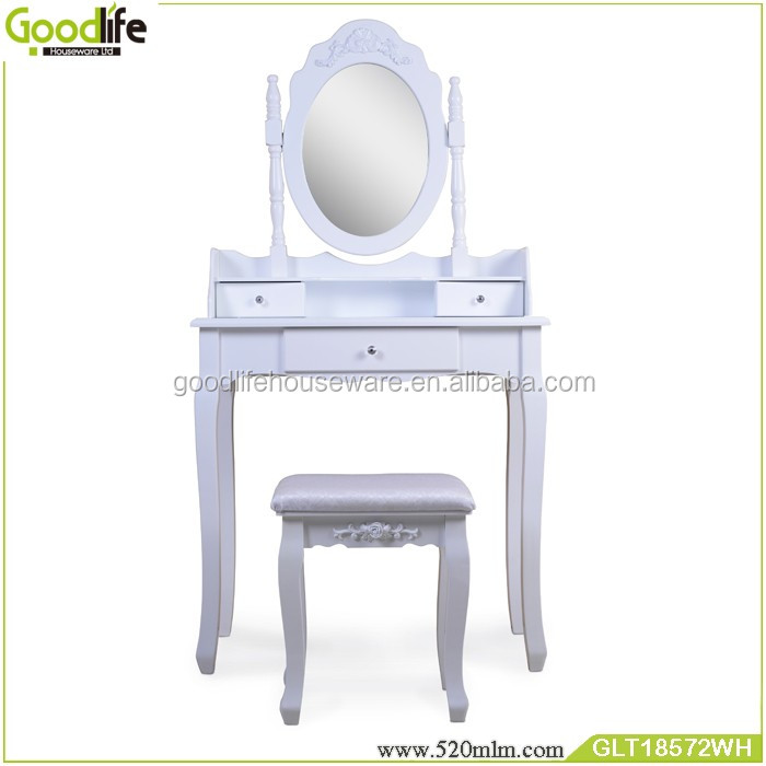 Wooden dressing table with drawers unique dressing table designs Wholesale