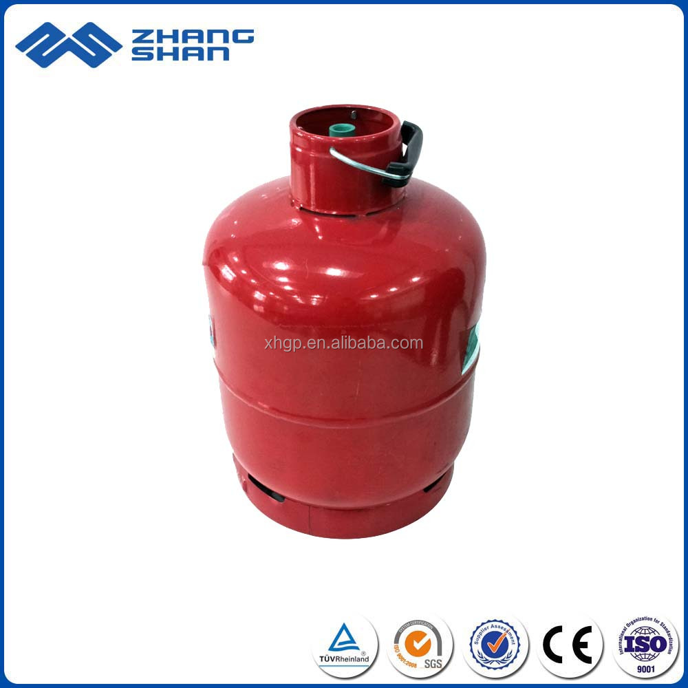 Kitchen Camping Portable 3kg Hot Forged Steel LPG Gas Cylinder