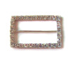 wholesale dress rhinestone buckles for belt or clothes decoration top quality belt rhinestone buckles