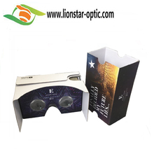 mobile vr headset 3d vr paper glasses virtual reality kit google cardboard v2