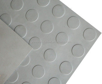 Greatwall Rubber Supply Round Button Rubber Mat