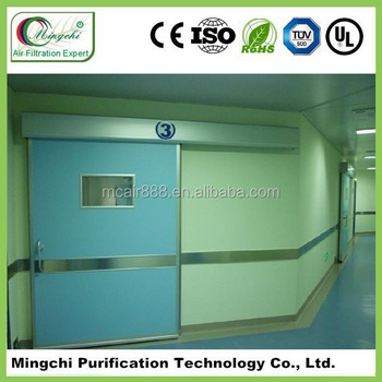 clean room seal automatic sliding door