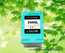Tri-color wide format inkjet cartridge with hp 344 ink cartridge holder