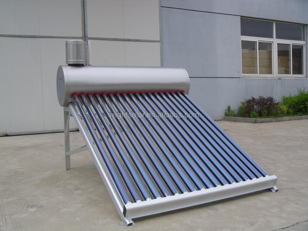 Stainless steel SUS304-2B Low Pressure Solar Water Heater