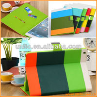 for APPLE iPad Air color PU leather Stand case with card holder