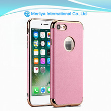 Mobile phone cover electroplating TPU leather case for OPPO R9 R9plus