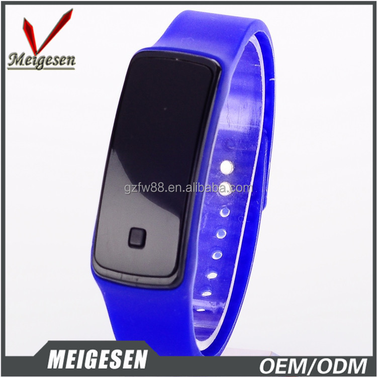 Top Selling Cheap Promotion Digital Bracelet Watch Rubber LED watches