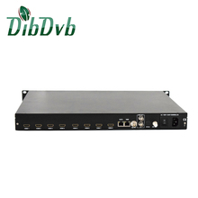 Peru, Brazil digital tv system 8 channels hd to rf encoder modulator isdb-t with h.264 encoding