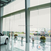 Waterproof thermal insulated transparent pvc roller shutter
