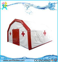 Outdoor airtight inflatable medical/hospital/relief tent for emergency