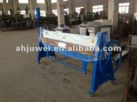 TDF 1.5x1300 manual flange folding machine, used flanging machine, manual bending machine