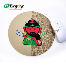 Customized Round Computer Mouse Pad with Photo Printed