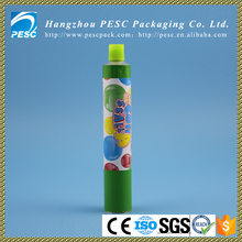 30g hot sale food aluminum tube for jam, candy packaging