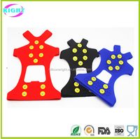 anti-slip silicone ice gripper shoe cover crampons