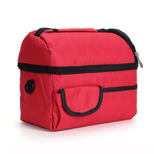 Insulated Thermal Lunch Bag Cooler Bag Ice Box Lunch Box Camping Lunch Tote food storage