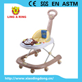 2016 new baby walker with lovely musical monkey face for 6-18 month baby
