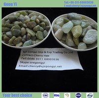 dark green highly polished pebble/cobble/gravel/chips Green river natural stone cobbles