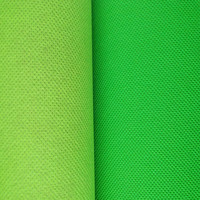 Polypropylene nonwoven material, spunbond for packaging, packaging fabric