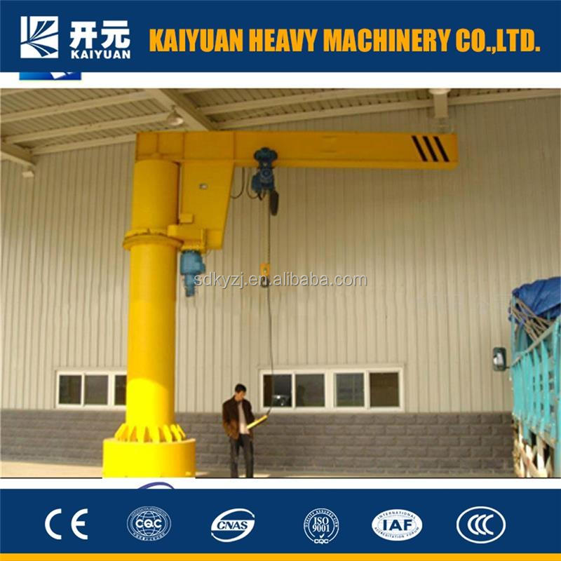 Movable Electric Column Supported Jib Crane