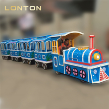 Outdoor Electric Amusement Train Adult Rides Train Set