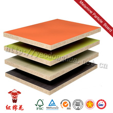Alternative of oriented wood chipboard with lamination