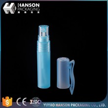 Refillable Empty Frosted Pen Shaped Plastic Perfume Spray Bottles