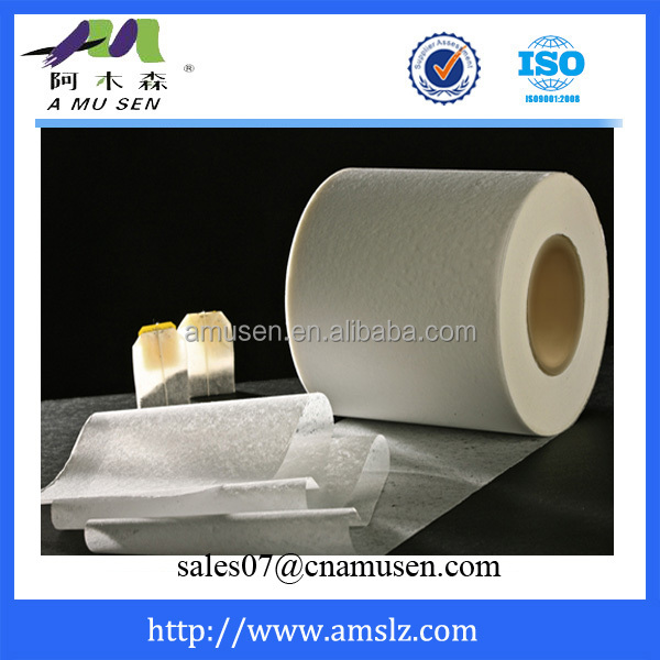 High quality tea bag filter paper from Germany technology and machinery.
