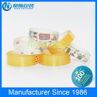 Good quality Bopp clear stationery tape with plastic core