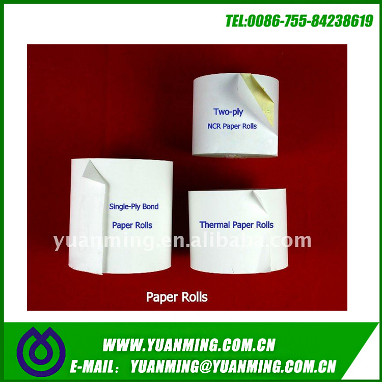 Two-Part Carbonless (NCR) 80mm Paper Roll