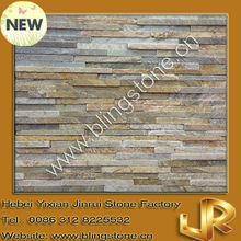 Beige slate ledgestone decorative wall slate tiles