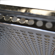 <strong>Flat</strong> and Perforated Aluminium Baking Tray with raised edges