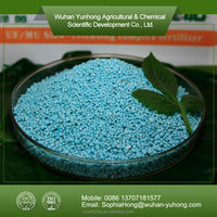 NPK blue granular compound fertilizer