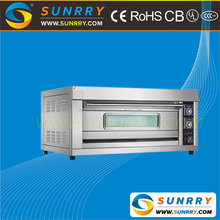 Luxury electric pizza baking deck oven price